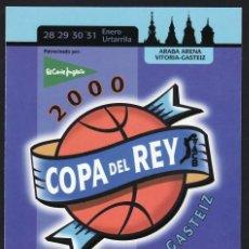 Sellos: TARJETA DEL CORREO 1999 72 EDICIÓN DE LA COPA DEL S.M. EL REY DE BALONCESTO. Lote 110533571