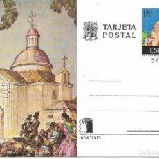 Sellos: == PJ681 - TARJETA POSTAL - ERMITA DE SAN ANTONIO DE LA FLORIDA - ROMERIA. Lote 114138747