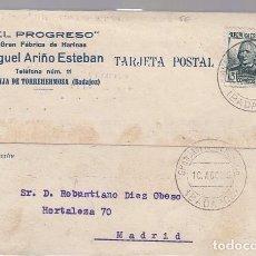 Sellos: GRANJA DE TORREHERMOSA (BADAJOZ). Lote 116613415