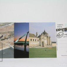 Sellos: TARJETAS POSTALES AÑO 1991 - EXPOSICIÓN UNIVERSAL DE SEVILLA - EDIFIL 3100 / 3103. Lote 117015088