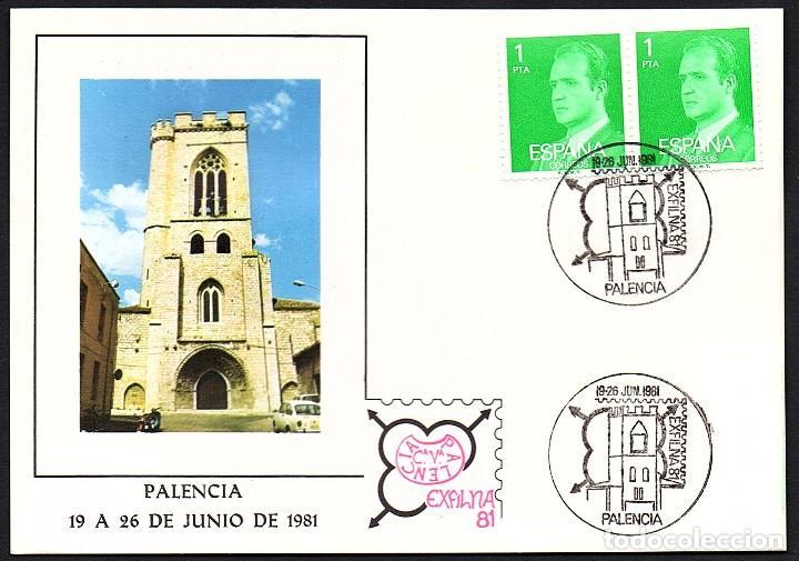 TARJETA EXFILNA 1981 PALENCIA (Sellos - Extranjero - Tarjetas)