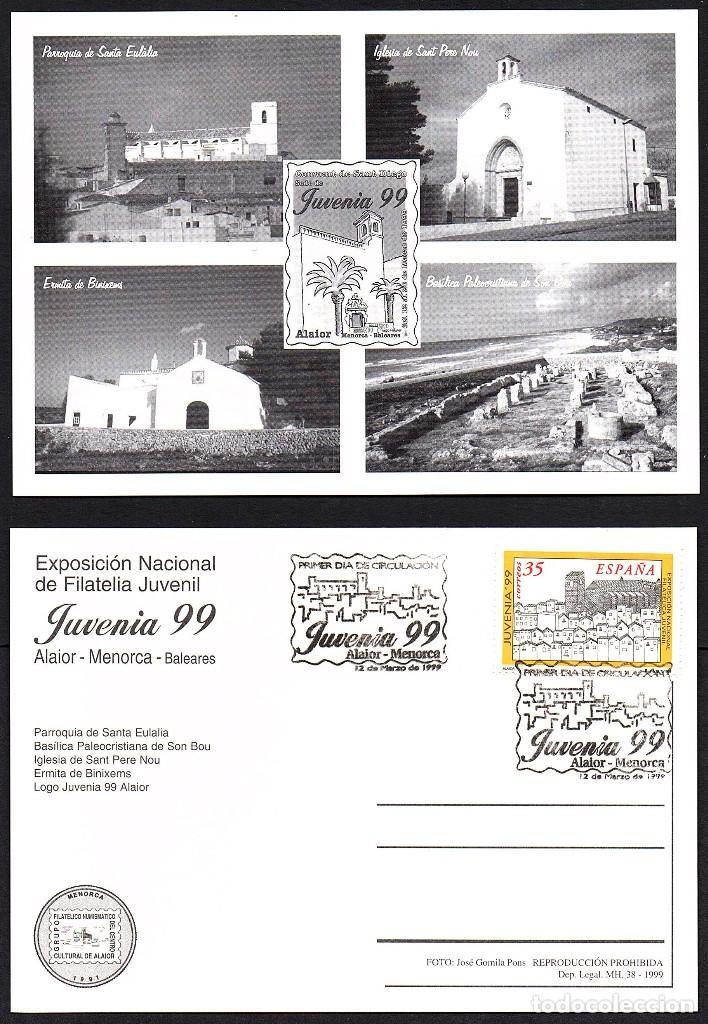 TARJETA JUVENIA 99 - ALAIOR (Sellos - Extranjero - Tarjetas)