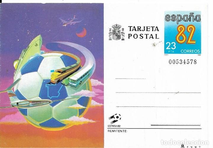 == PH1528 - TARJETA POSTAL - ESPAÑA 82 (Sellos - España - Tarjetas)