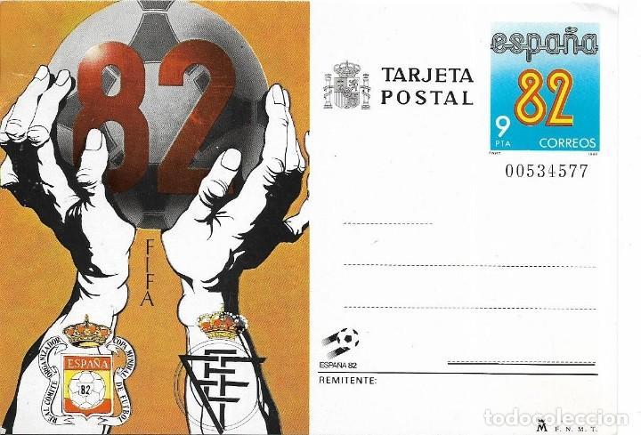 == PH1529 - TARJETA POSTAL - ESPAÑA 82 (Sellos - España - Tarjetas)