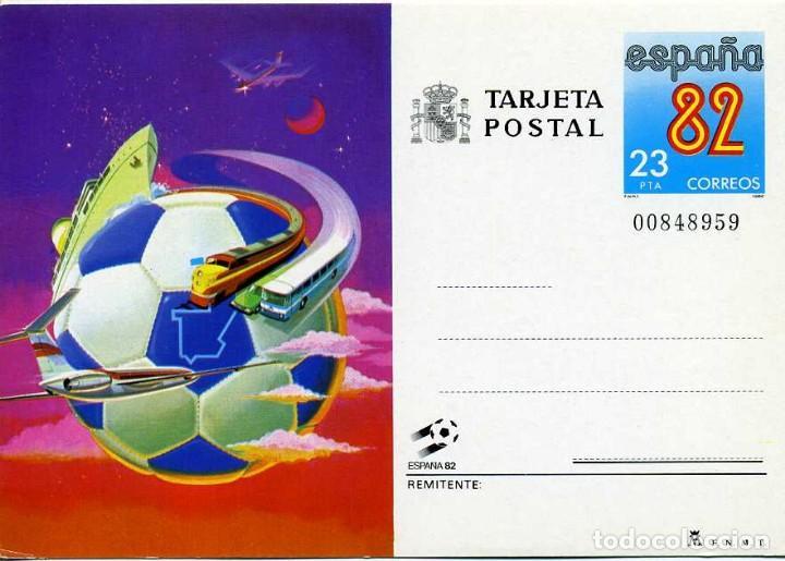 TARJETA POSTAL. ESPAÑA 82 (Sellos - España - Tarjetas)