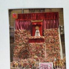 Francobolli: TARJETA CON SELLOS ESPAÑA - 1977 PLAZA DE VIRGEN - 1172 PATRONA DE VALENCIA - SELLO USADO. Lote 122099431