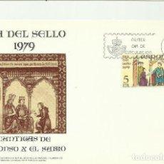 Sellos: APUNTE LITERARIO FILATELICO ILUSTRADO 1979. Lote 124435115