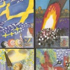 Sellos: SUECIA. CARTA MÁXIMA. 1991. MK. Nº 60,61,62,63. Lote 139613514