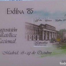 Sellos: EXPOSICIÓN FILATELICA NACIONAL EXFILNA 85. Lote 141539814