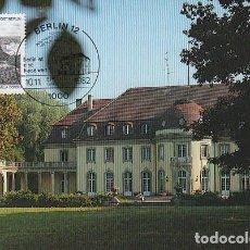 Sellos: ALEMANIA BERLIN IVERT 646, VILLA BORSIG EN BERLIN, TARJETA MÁXIMA DE 10-11-1982. Lote 142171714