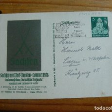 Sellos: POSTAL ALEMANIA TERCER REICH. Lote 146257866