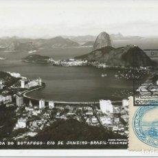 Sellos: 1936. BRASIL/BRAZIL. RIO DE JANEIRO. SELLO YVERT 313. MATASELLOS/POSTMARK 1960. TURISMO/TOURISM.. Lote 146608786