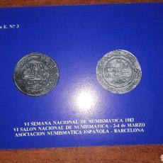Sellos: TARJETAS POSTALES MATASELLADASASOCIACION NUMISMATICA ESPAÑOLA 1983 2Y3 MARZO. Lote 147030653