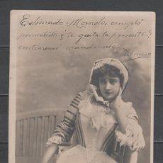 Sellos: R/19536, TARJETA POSTAL CIRCULADA DE LA CORUÑA A GUITIRIZ -MARIE THIERRY-, AÑO 1902. Lote 154544842