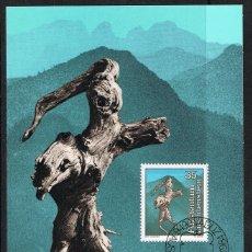 Briefmarken - [EF0236] Liechtenstein 1984, Tarjeta Máxima - Maxicard nº 47-01 (M) - 154573122