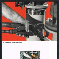 [EF0243] Liechtenstein 1984, Tarjeta Máxima - Maxicard nº 49-02 (M)