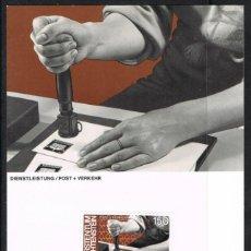 Sellos: [EF0253] LIECHTENSTEIN 1984, TARJETA MÁXIMA - MAXICARD Nº 49-12 (M). Lote 155431982