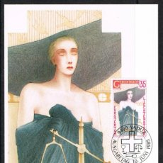 [EF0264] Liechtenstein 1985, Tarjeta Máxima - Maxicard nº 54-01 (M)