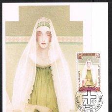 [EF0265] Liechtenstein 1985, Tarjeta Máxima - Maxicard nº 54-02 (M)