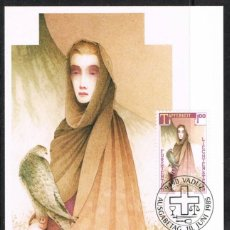 [EF0267] Liechtenstein 1985, Tarjeta Máxima - Maxicard nº 54-04 (M)