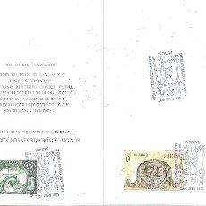 Sellos: INVITACIO HONORABLE JORDI PUJOL A LA INAUGURACIO OFICIAL EXPOSICIO FILATELICA I NUMISMATICA DIADA SA. Lote 158620310