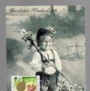Sellos: MK 190 / SONDERMARKEN GLÜCKWUNSCH UND DANK BLUMENSTRAUSS / LIECHTENSTEIN 2001. Lote 159322630