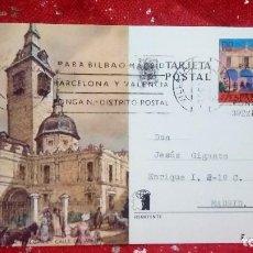 Sellos: TARJETA POSTAL * PARROQUIA DE S. GINES-CALLE DEL ARENAL *. Lote 160524974
