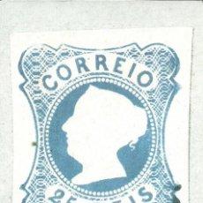 Sellos: TARJETA MAXIMA PORTUGAL DEL SELLO DE 25 REIS , 150 ANIV. PRIMER SELLO PORTUGUES. Lote 161893742