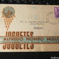 Sellos: ALACUAS. VALENCIA. 1941. Lote 162098137