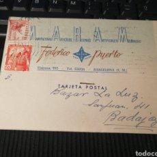 Sellos: MARAN. BARCELONA. 1949. Lote 162100349