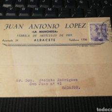 Sellos: ALBACETE. 1943. Lote 162100648