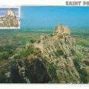 Sellos: FRANCIA IVERT 3169, CASTILLO DE CRUSSOL EN SAINT PERAY, TARJETA MÁXIMA DE 12-8-2000. Lote 162943794