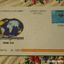 Sellos: AEROGRAMA AVIÓN CASA - 212 1983. Lote 164126850
