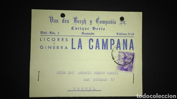 TARJETA POSTAL PUBLICITARIA. SANTANDER. (Sellos - España - Tarjetas)