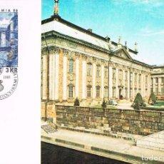 Sellos: SUECIA IVERT 1317, CANAL DE RIDDARHOLMEN (EL SELLO PINTURA DE HILDING LINNQVIST), MÁXIMA D 21-5-1985. Lote 166409586