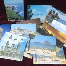 Stamps - TARJETAS DEL CORREO 1995.TARJETAS 1 A 24 BALEARES Y CANARIAS - 166552002