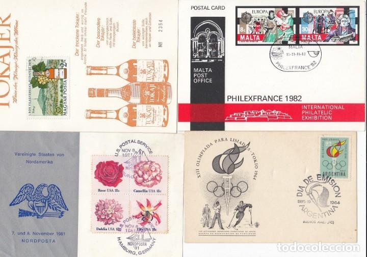 Sellos: Lote de 42 tarjetas máximas de diferentes paises. - Foto 4 - 170112656