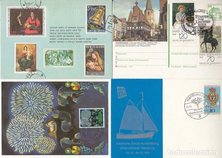 Sellos: Lote de 42 tarjetas máximas de diferentes paises. - Foto 6 - 170112656