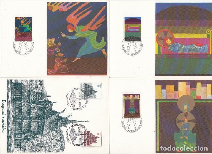 Sellos: Lote de 42 tarjetas máximas de diferentes paises. - Foto 10 - 170112656