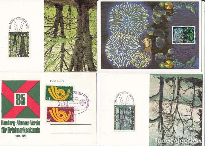 Sellos: Lote de 42 tarjetas máximas de diferentes paises. - Foto 15 - 170112656