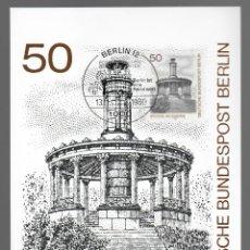 Sellos: MOTIVOS DE BERLÍN - GROSSE NEUGIERDE / ALEMANIA 13.11.1980. Lote 170288444