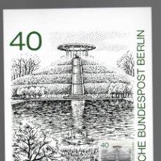 Sellos: MOTIVOS DE BERLÍN - LILIENTHAL-GEDENKSTATTE / ALEMANIA 13.11.1980. Lote 170289084