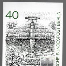 Sellos: MOTIVOS DE BERLÍN - LILIENTHAL-GEDENKSTATTE / ALEMANIA 13.11.1980. Lote 170289112
