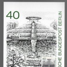 Sellos: MOTIVOS DE BERLÍN - LILIENTHAL-GEDENKSTATTE / ALEMANIA 13.11.1980. Lote 170289180