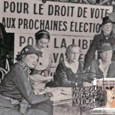 Sellos: FRANCE 2019 - DROIT DE VOTE DES FEMMES MAXIMUM CARD. Lote 171464124