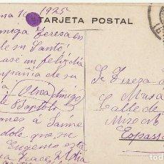 Sellos: SELLO 315. ALFONSO XIII: BARCELONA A ESPARRAGUERA (BARCELONA) 1925.. Lote 171796693