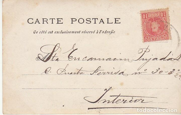 Sellos: Sello 243. ALFONSO XIII. CORUÑA. 1902. - Foto 2 - 171797320