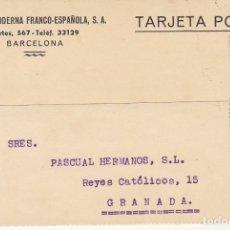 Sellos: SELLO 657 Y B10. BARCELONA A GRANADA.1934.. Lote 172996909
