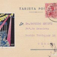 Sellos: BARCELONA A GERONA. 1931.. Lote 173160904