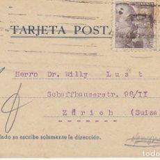 Sellos: BARCELONA A ZÜRICH. 1940.. Lote 173162679